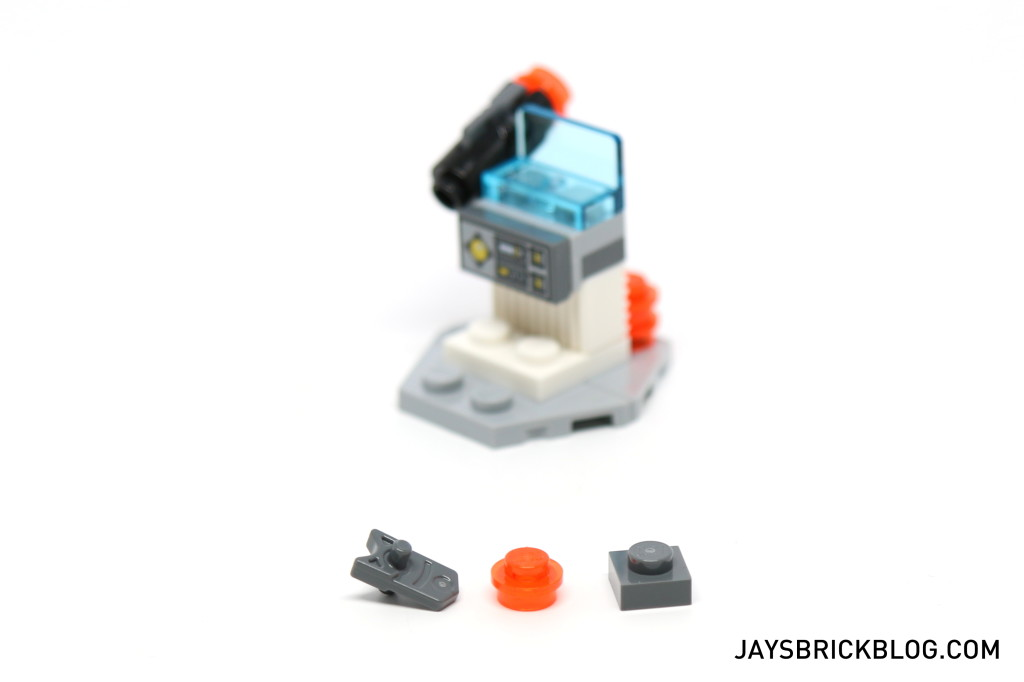 LEGO Star Wars Advent Calendar 2015 Day 21 - Weapons Console Spare Elements