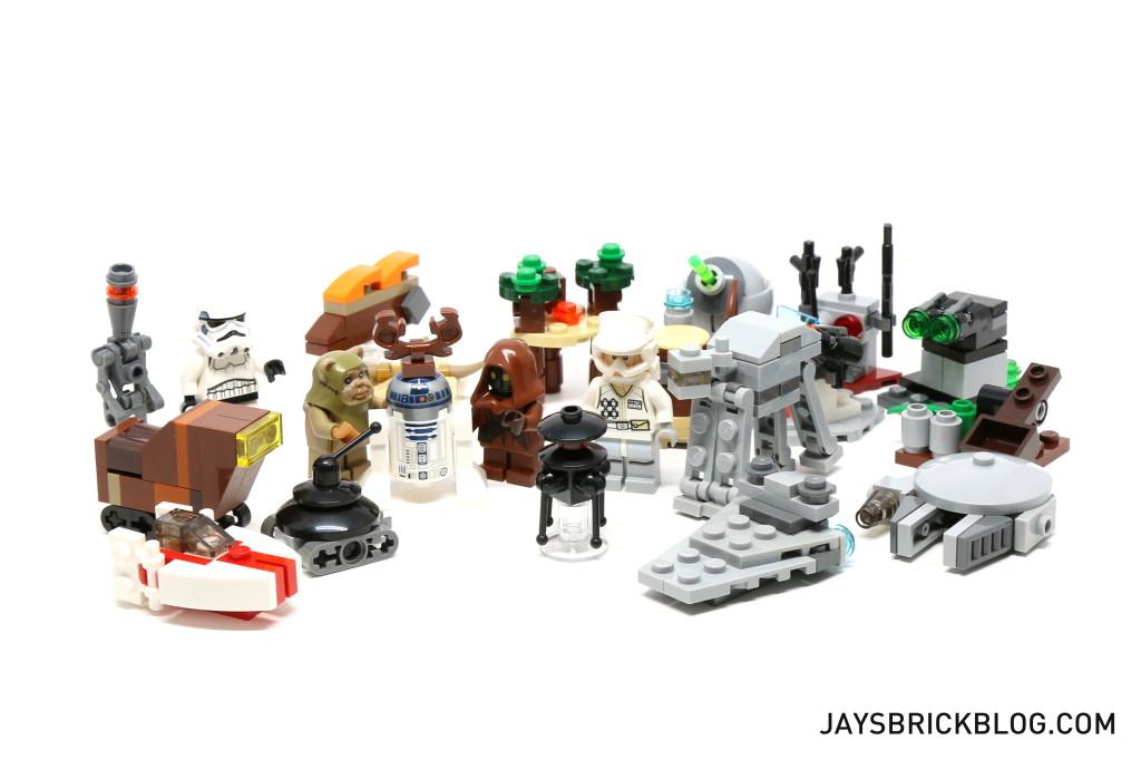 LEGO Star Wars Advent Calendar 2015 Day 22 So Far