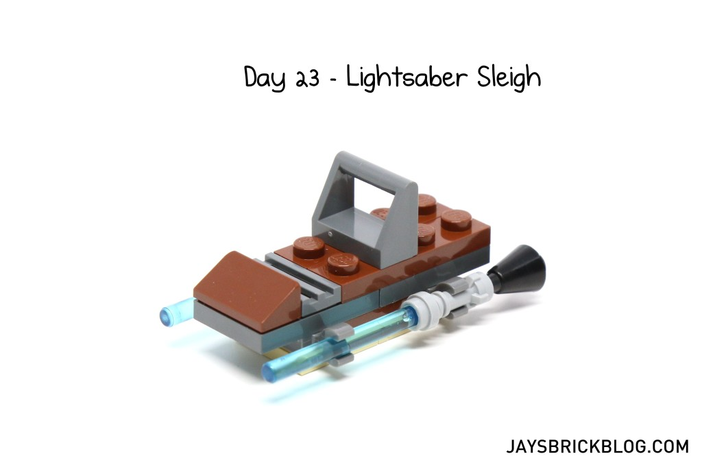 LEGO Star Wars Advent Calendar 2015 Day 23 - Lightsaber Sleigh
