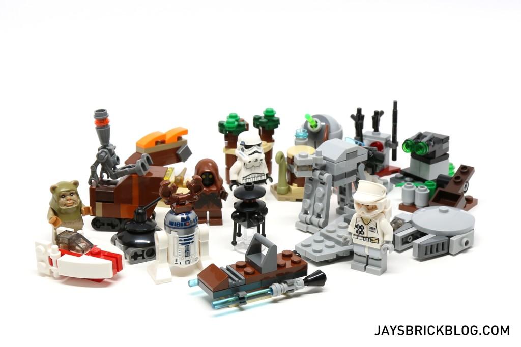 LEGO Star Wars Advent Calendar 2015 Day 23 So Far