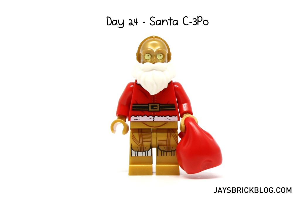 LEGO Star Wars Advent Calendar 2015 Day 24 - C-3PO Santa Minifigure