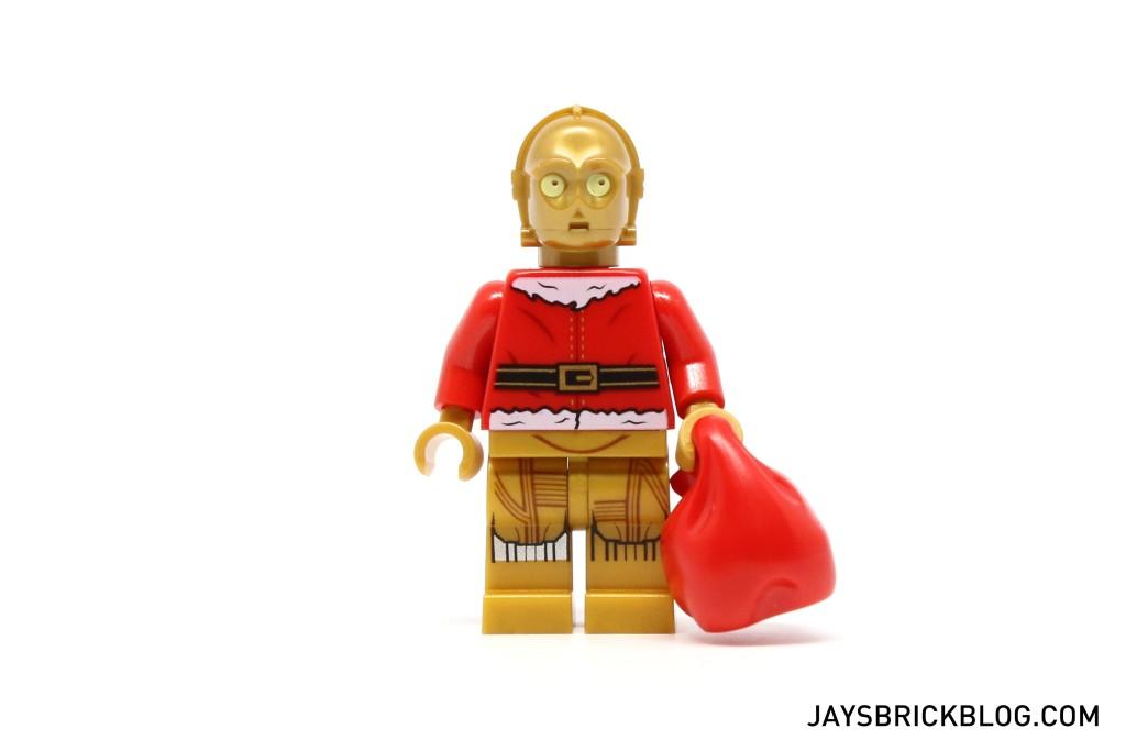 LEGO Star Wars Advent Calendar 2015 Day 24 - C-3PO Santa Minifigure Without Beard