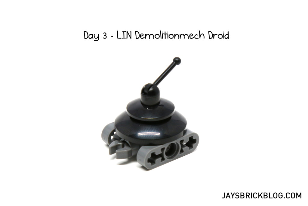 LEGO Star Wars Advent Calendar 2015 Day 3 - LIN Demolitionmech Droid
