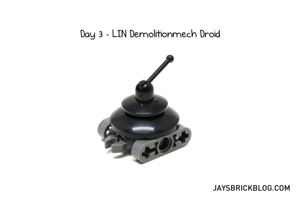 LEGO Star Wars Advent Calendar 2015 Day 3 - LIN Demolitionmech Droid