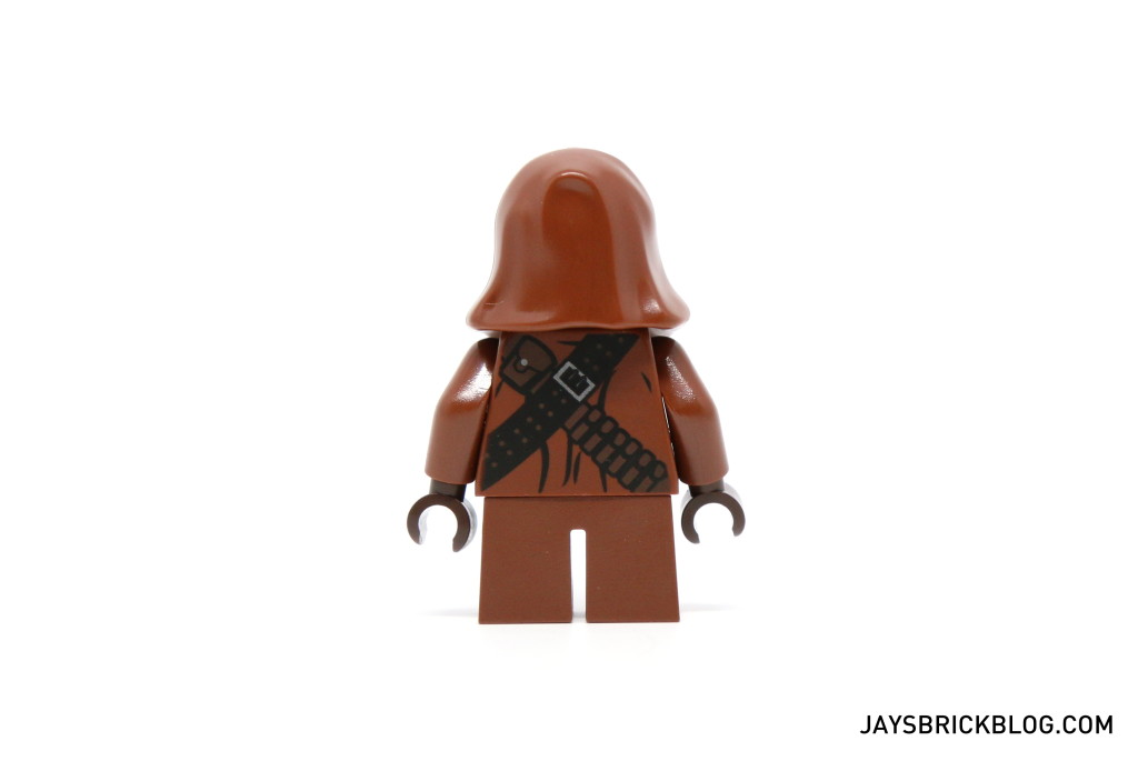 LEGO Star Wars Advent Calendar 2015 Day 4 - Jawa Minifig Back