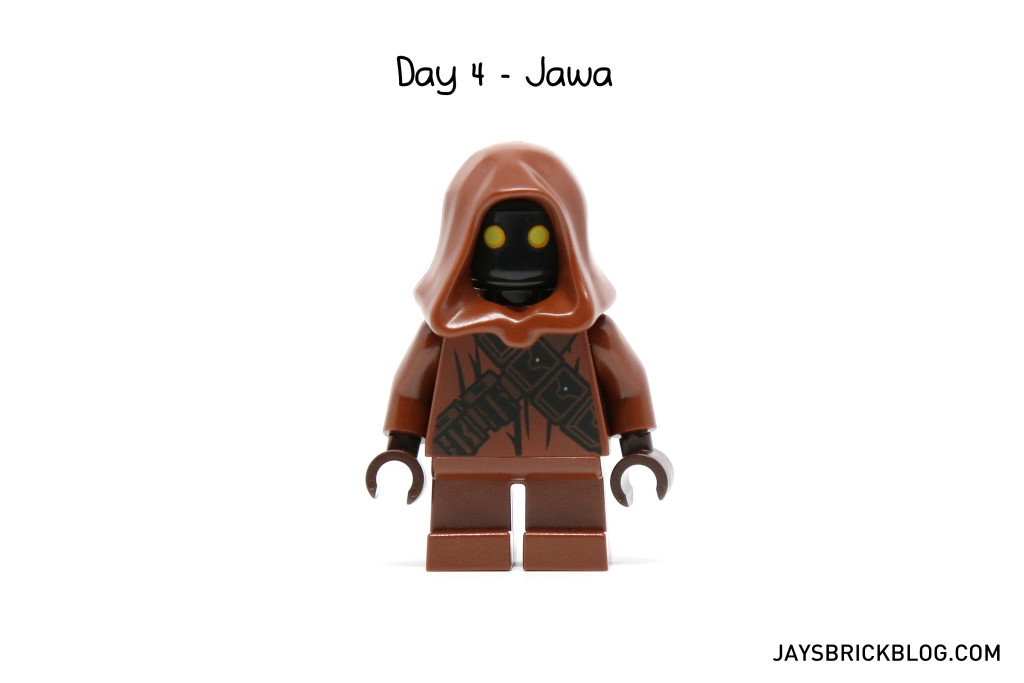 LEGO Star Wars Advent Calendar 2015 Day 4 - Jawa Minifigure
