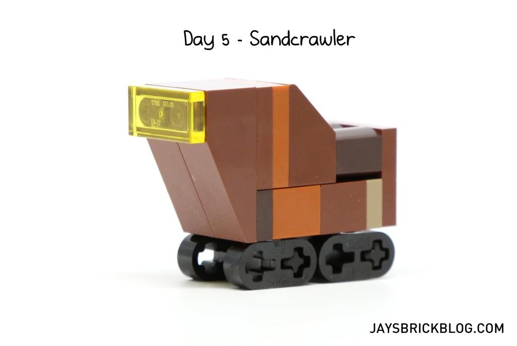 LEGO Star Wars Advent Calendar 2015 Day 5 - Sandcrawler