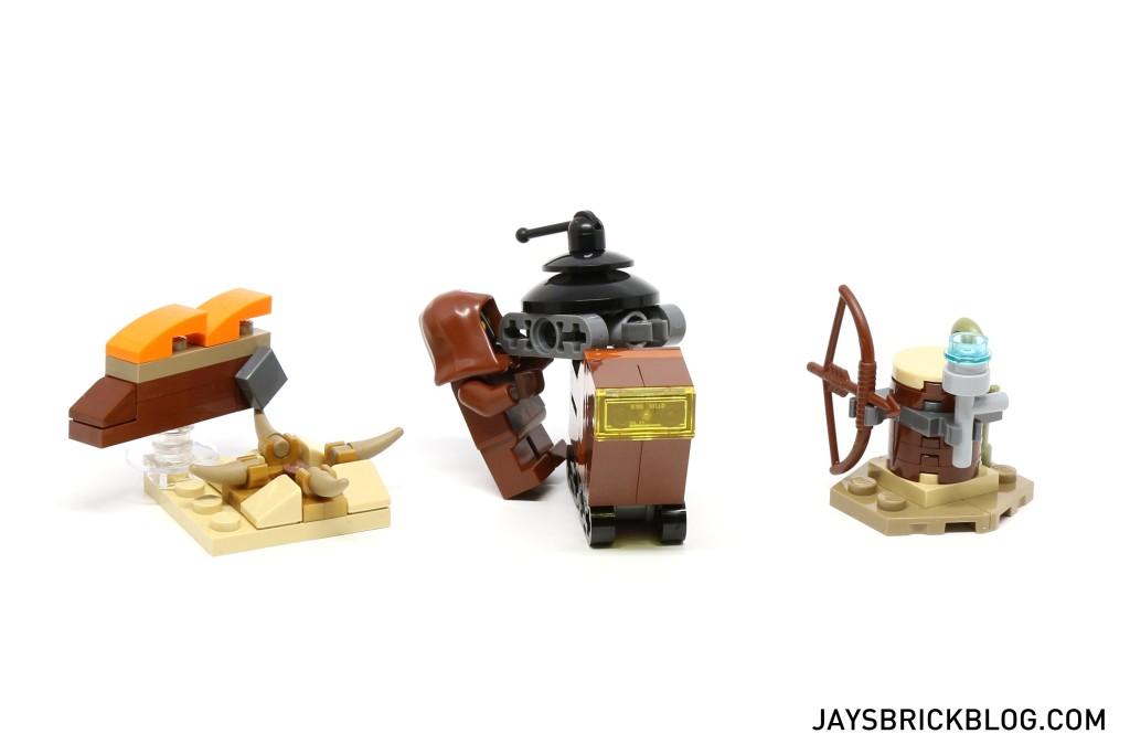 LEGO Star Wars Advent Calendar 2015 Day 6 So Far