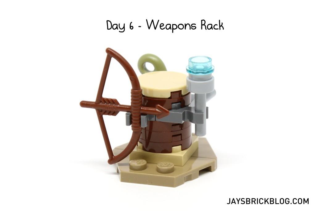 LEGO Star Wars Advent Calendar 2015 Day 6 - Weapons Rack