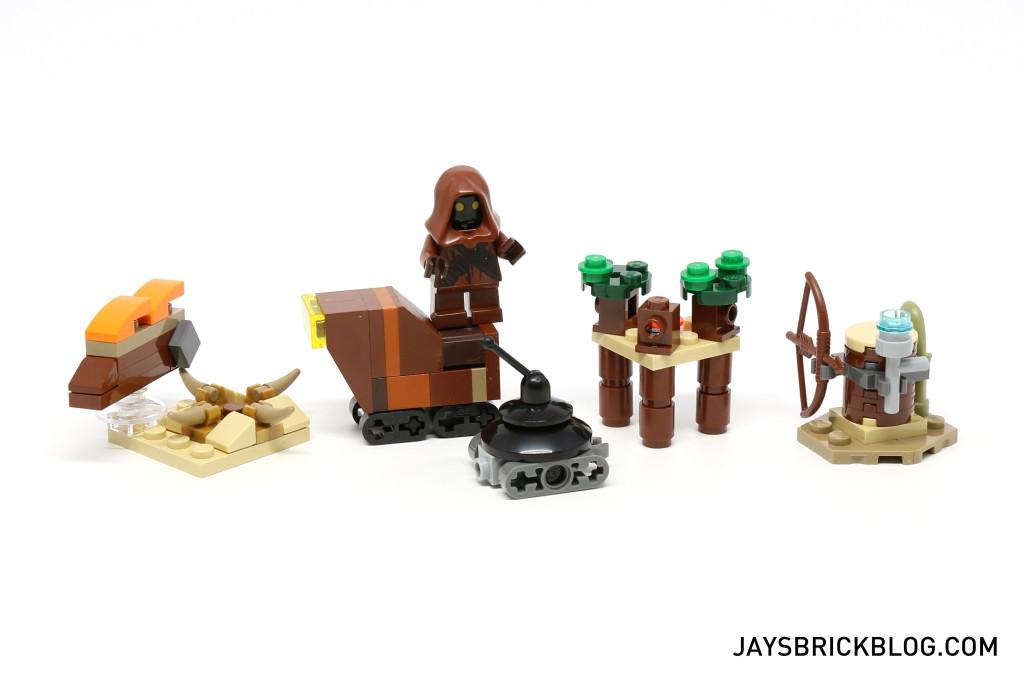 LEGO Star Wars Advent Calendar 2015 Day 7 So Far