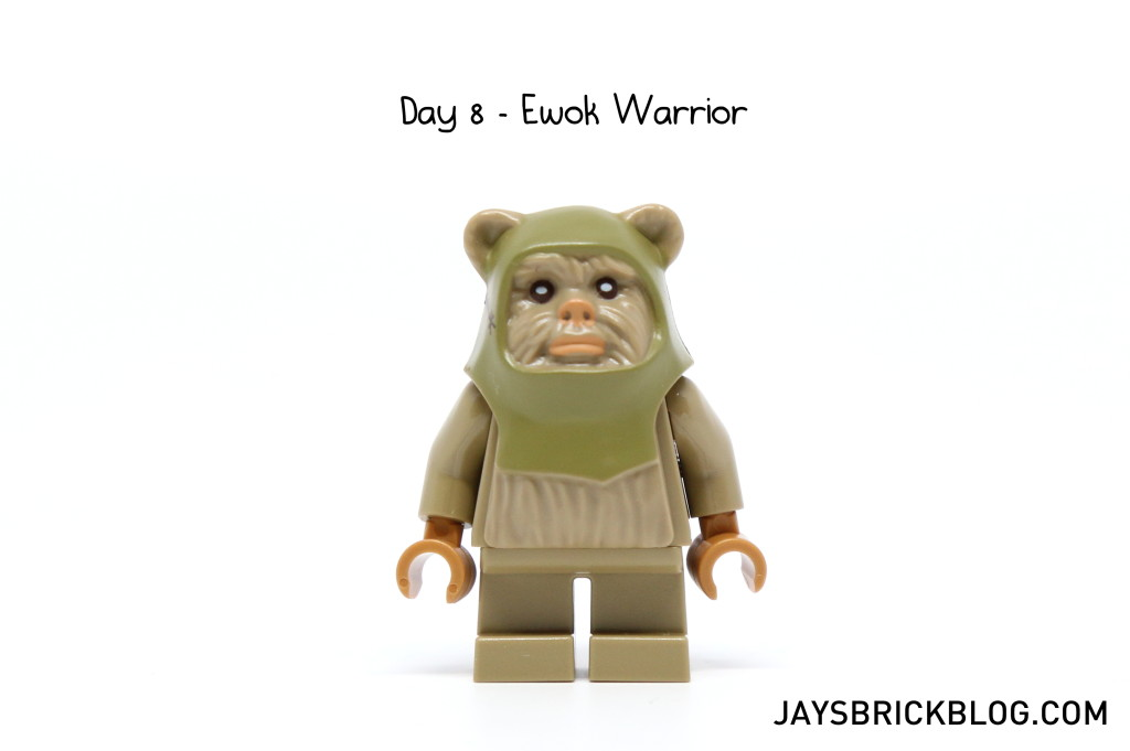 LEGO Star Wars Advent Calendar 2015 Day 8 - Ewok Warrior Minifigure