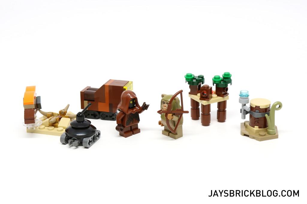 LEGO Star Wars Advent Calendar 2015 Day 8 So Far