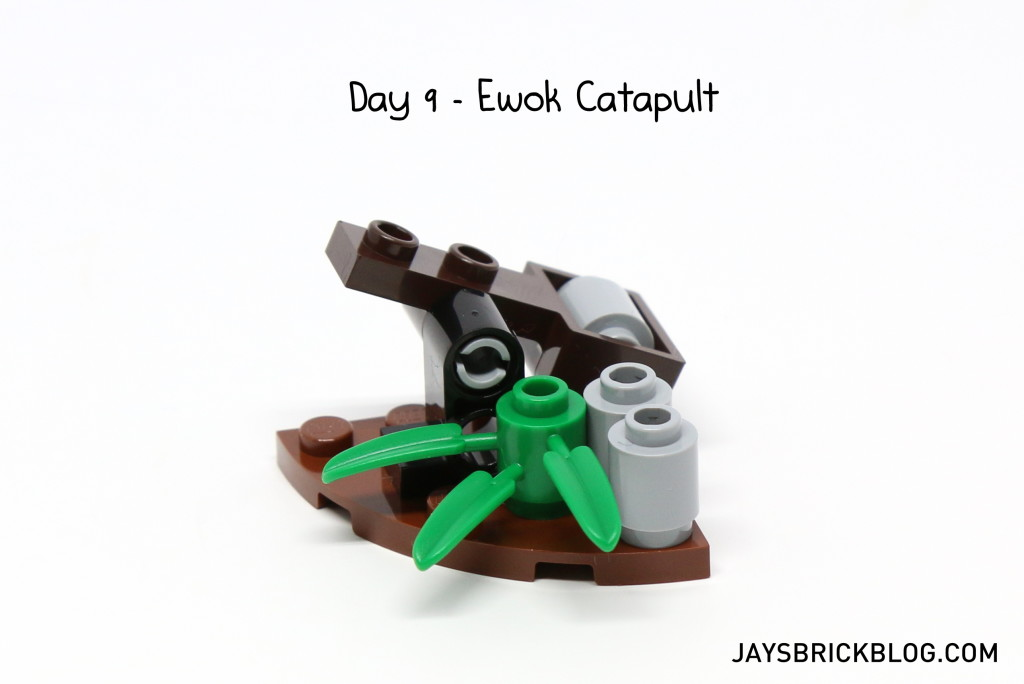 LEGO Star Wars Advent Calendar 2015 Day 9 - Ewok Catapult