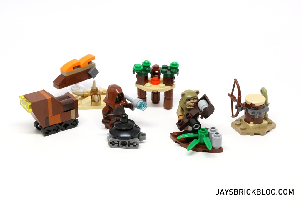 LEGO Star Wars Advent Calendar 2015 Day 9 So Far