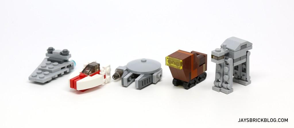 LEGO Star Wars Advent Calendar 2015 - Mini Vehicles