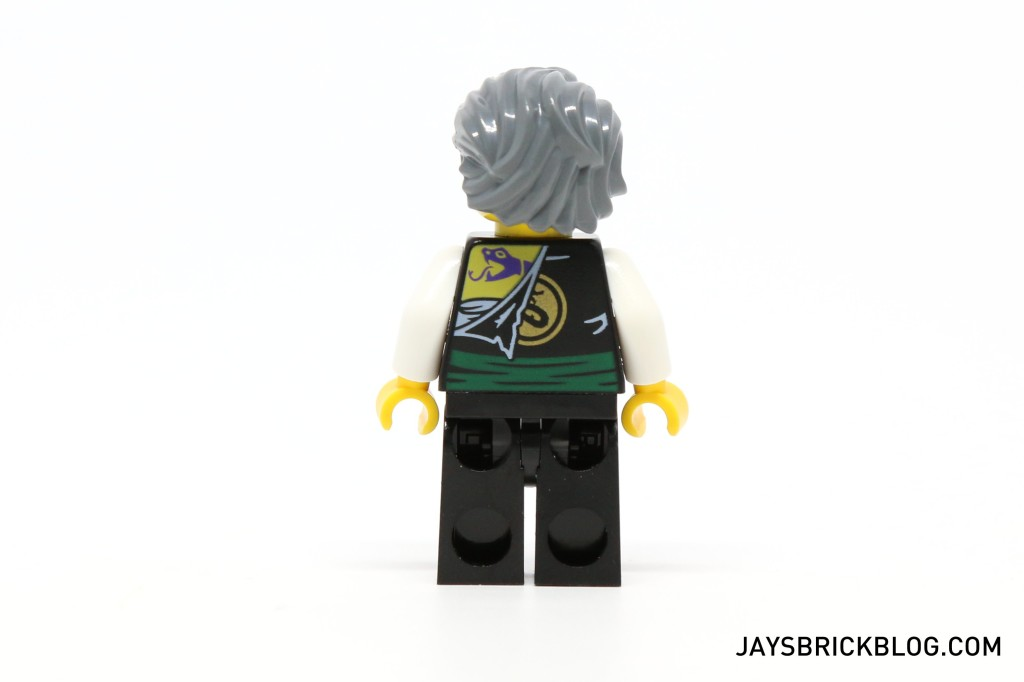 MinifigPak December - Garmadon Minifigure Back