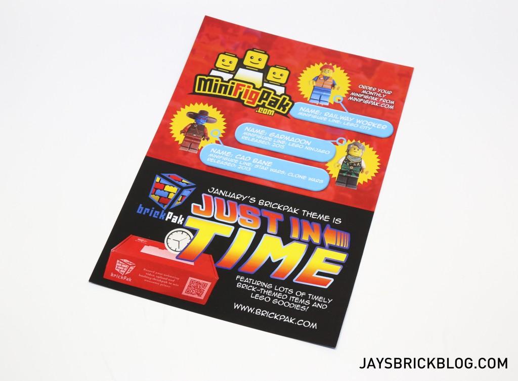 MinifigPak December - Leaflet 2