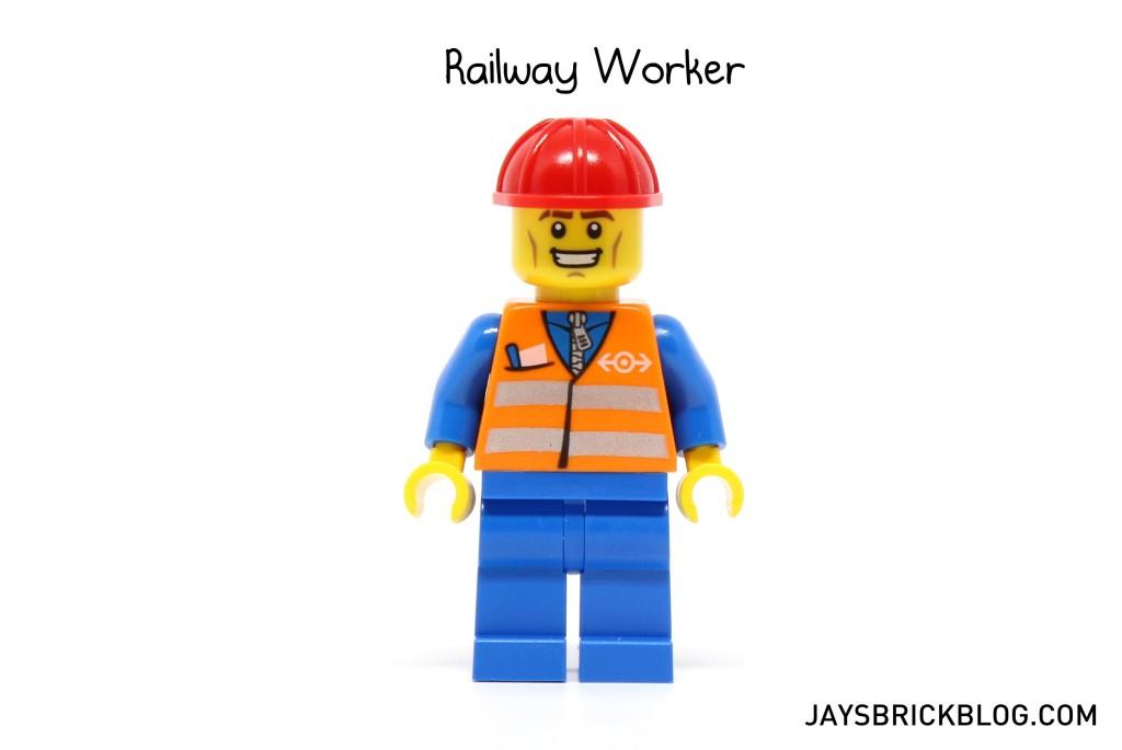MinifigPak December - Railway Worker Minifigure