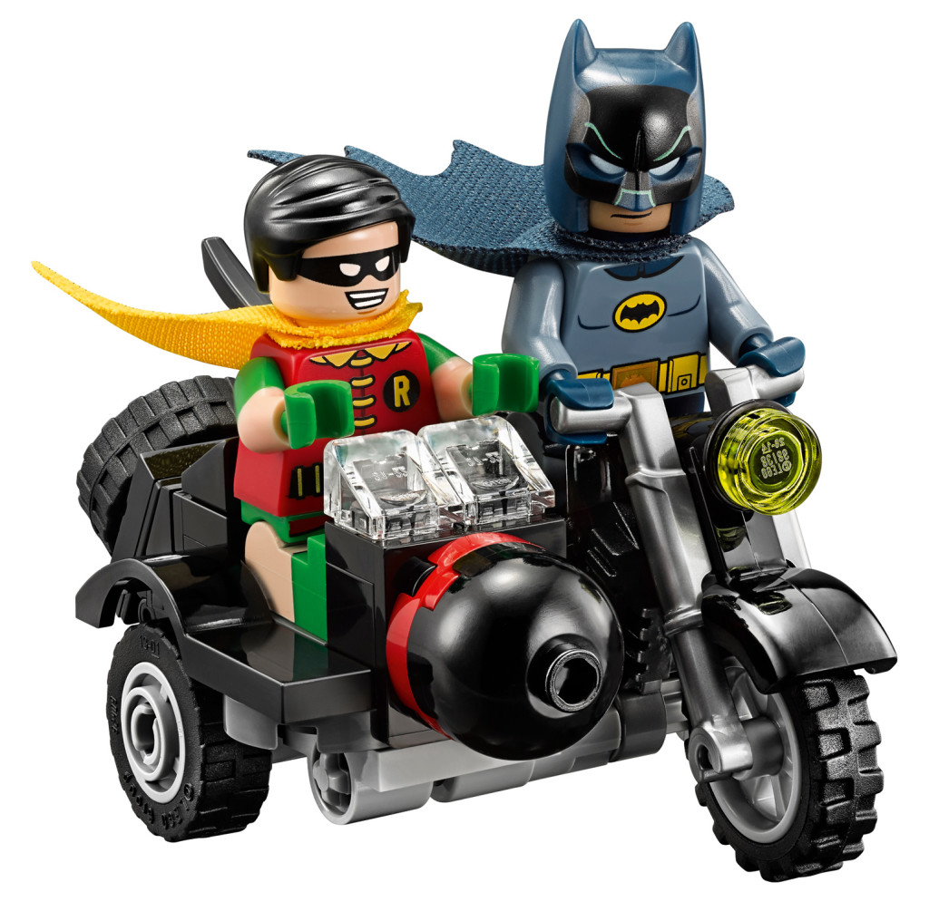 Batman Classic TV Series Batcave - Batcycle
