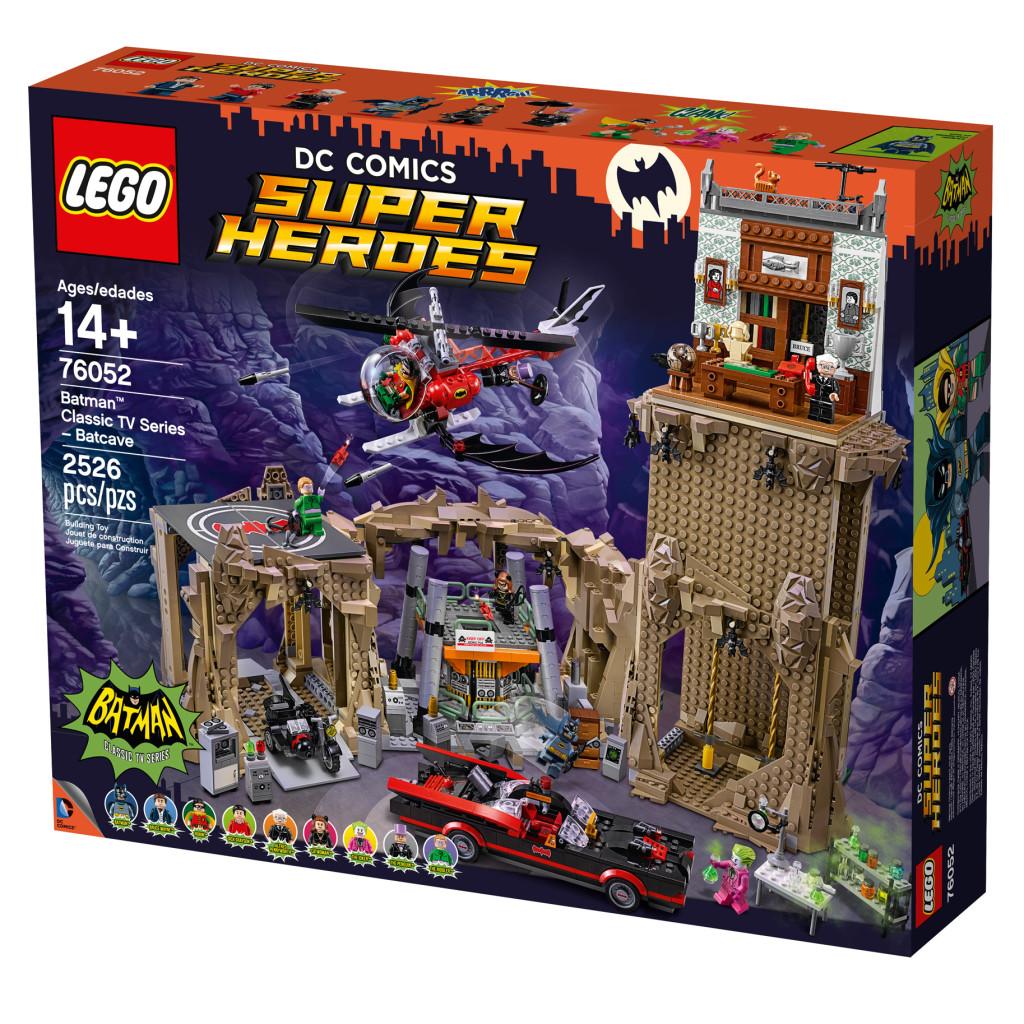 Batman Classic TV Series Batcave - Box Art