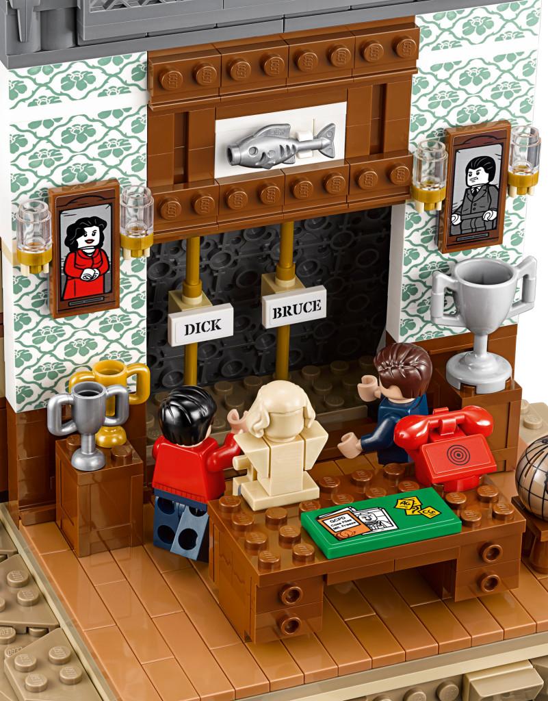 Batman Classic TV Series Batcave - Wayne Manor Interior
