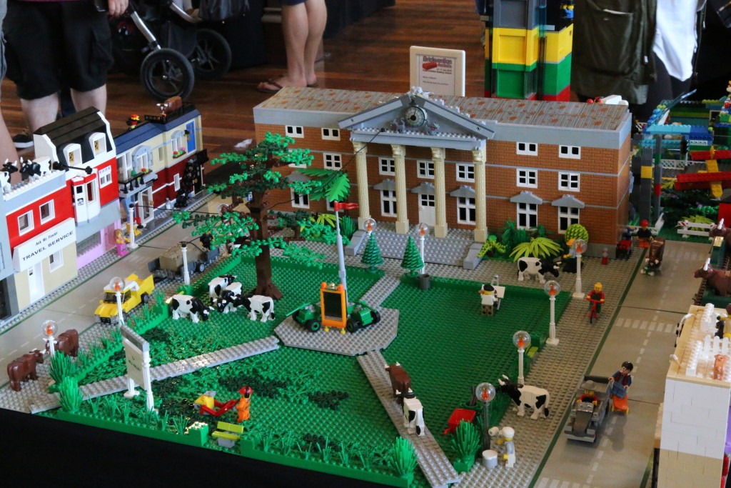 Brickvention 2016 - Back to the Moo-Ture by Martin, Lisa and Joshua Skragg