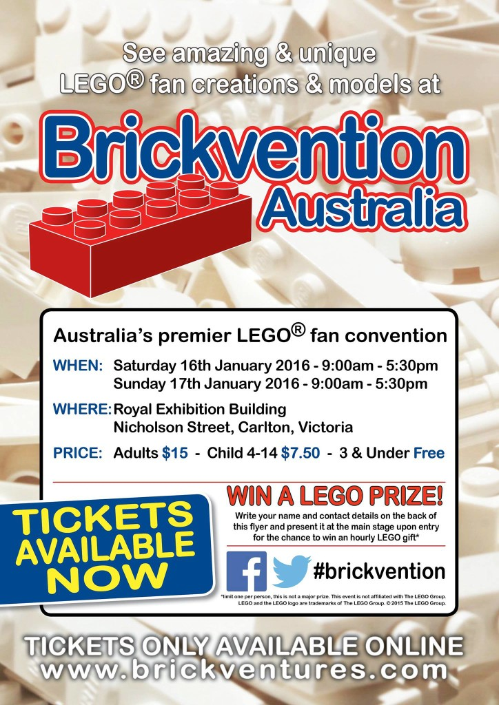 Brickvention 2016 Flyer