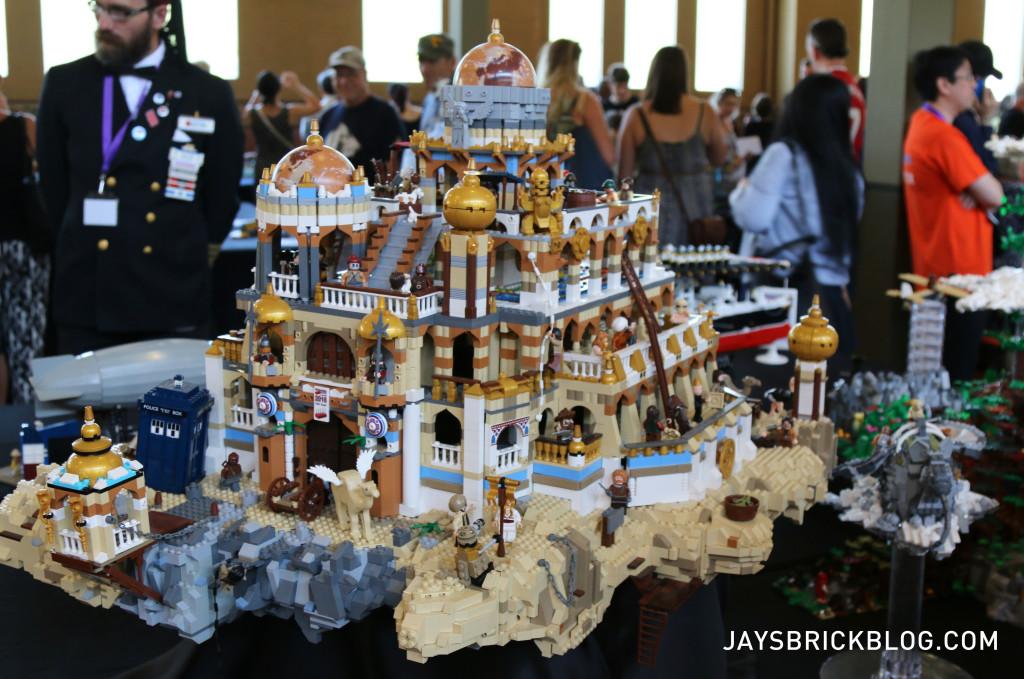 Brickvention 2016 - Flying Island of Laputa by Hannigan Heycox