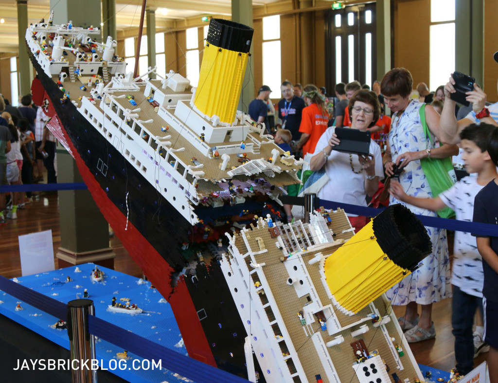 Brickvention 2016 - The Titianic by Ryan McNaught