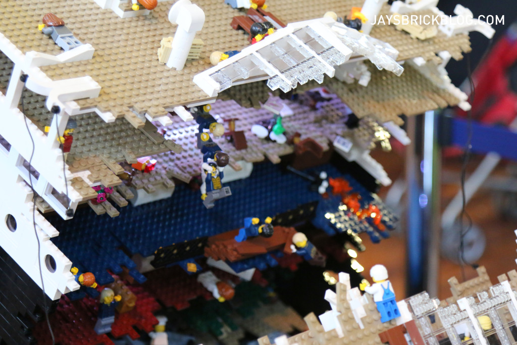 Brickvention 2016 - The Titianic by Ryan McNaught Tear