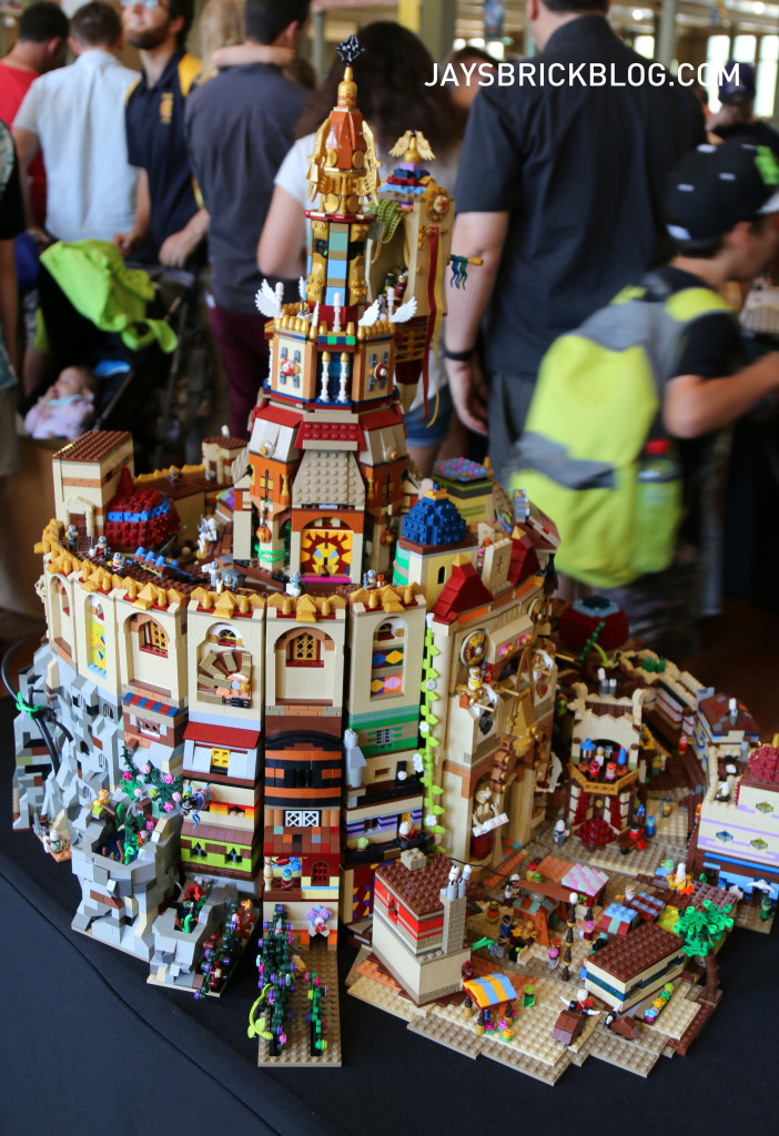 Brickvention 2016 - Tower of the Three Kings by Sam Brogden and Alex Cawthan