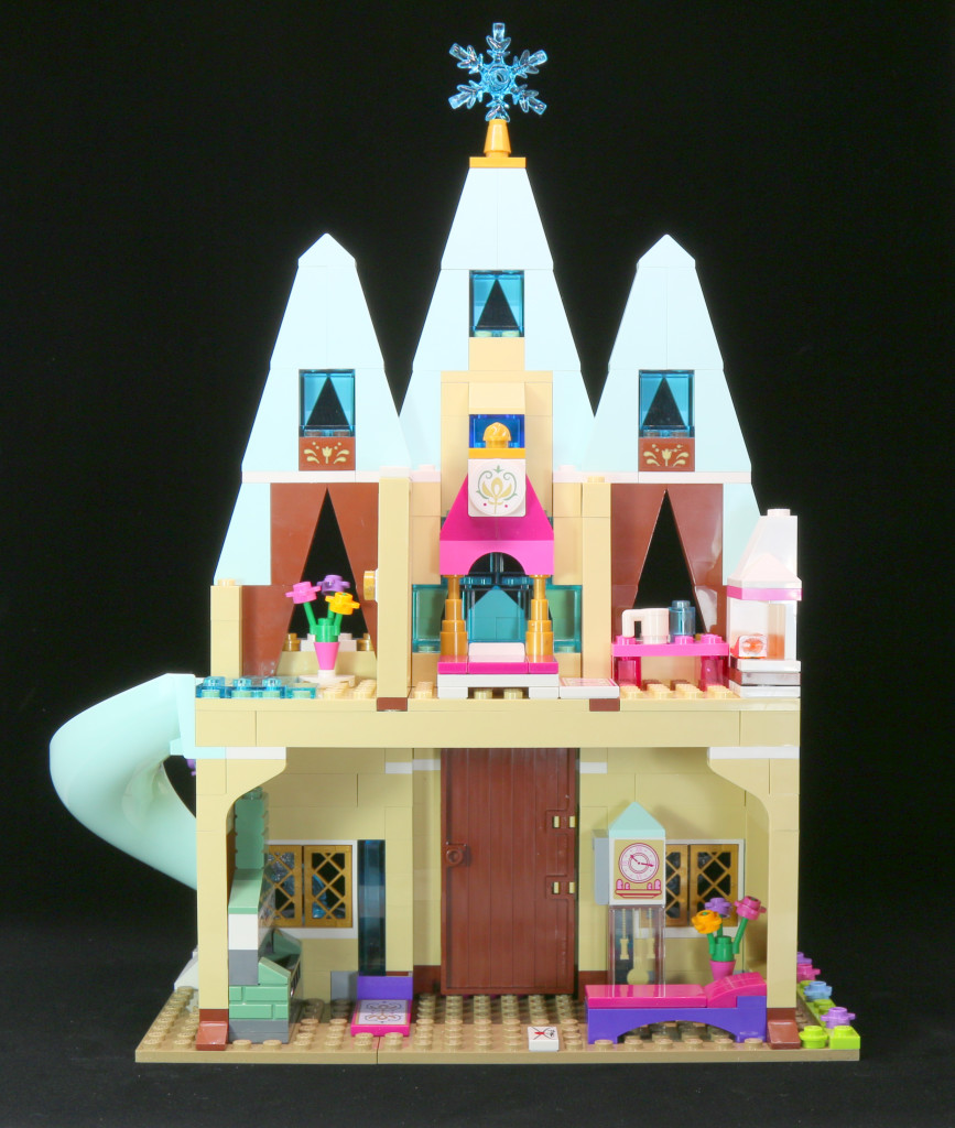 LEGO 41068 Arendelle Castle Celebration - View from Back