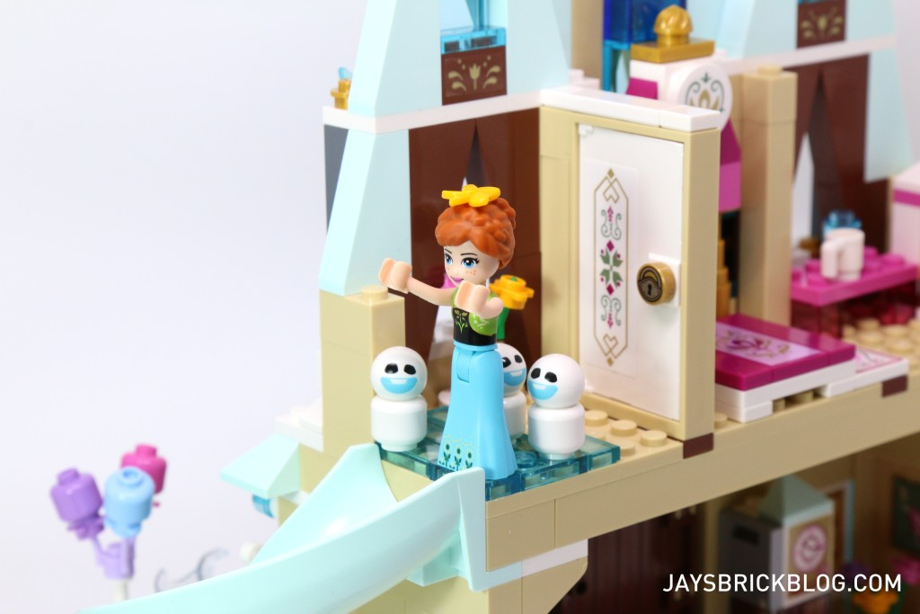 LEGO 41068 Frozen Arendelle Castle Celebration - Anna before slide