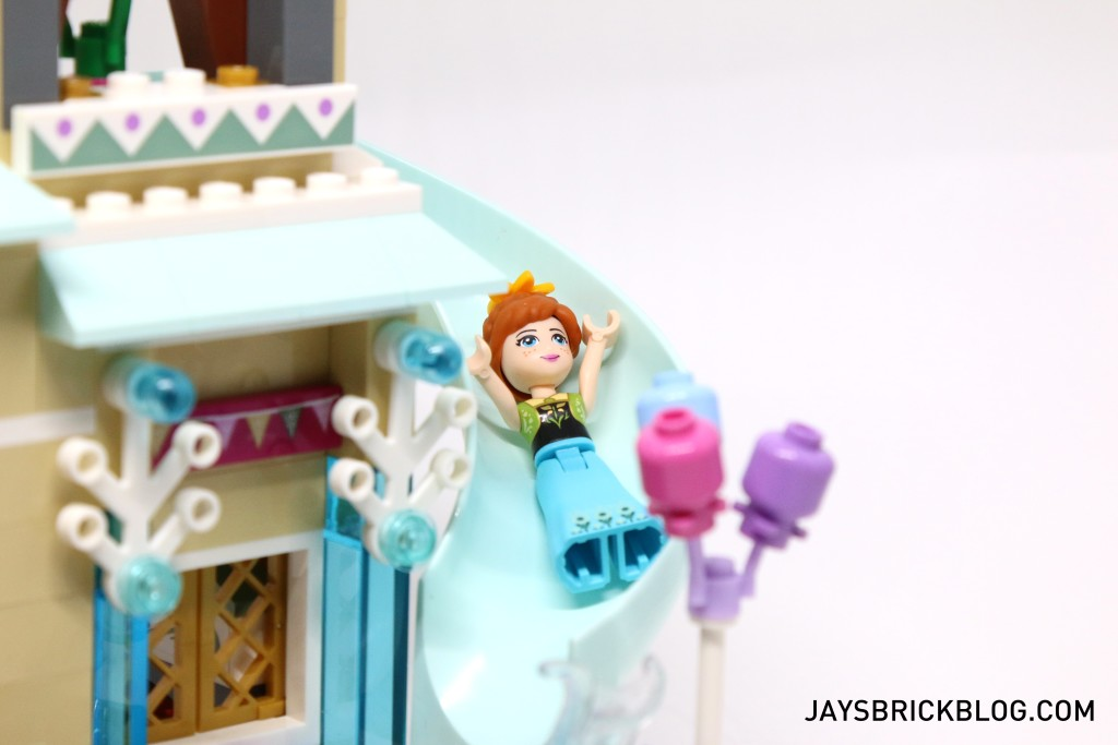 LEGO 41068 Frozen Arendelle Castle Celebration - Anna on Slide