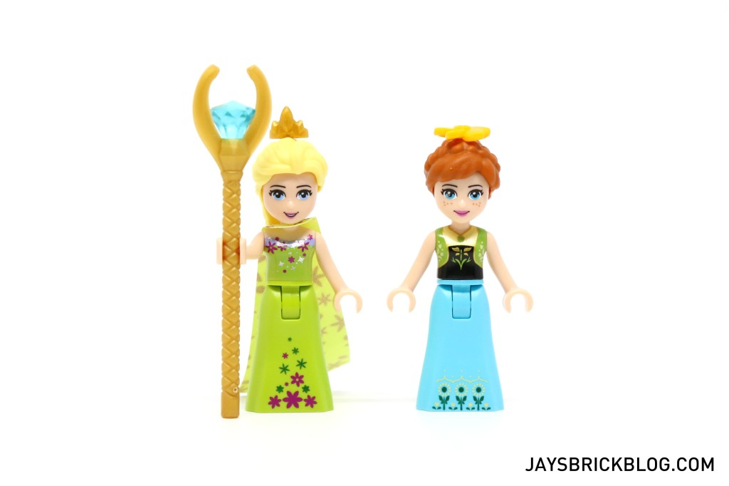 LEGO 41068 Frozen Arendelle Castle Celebration - Elsa and Anna Minidolls