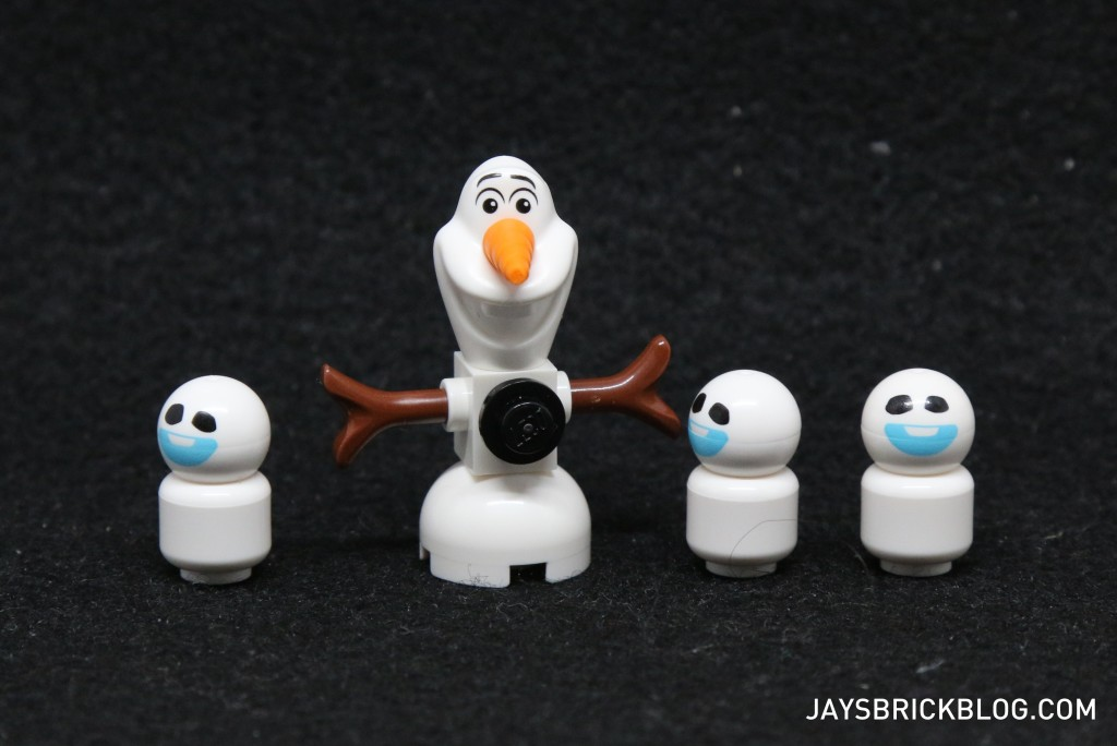 LEGO 41068 Frozen Arendelle Castle Celebration - Olaf and Snowgies Snowmen