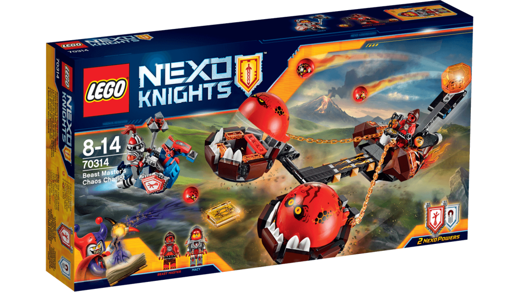 LEGO 70314 Nexo Knights - Beat Master's Chaos Chariot Box