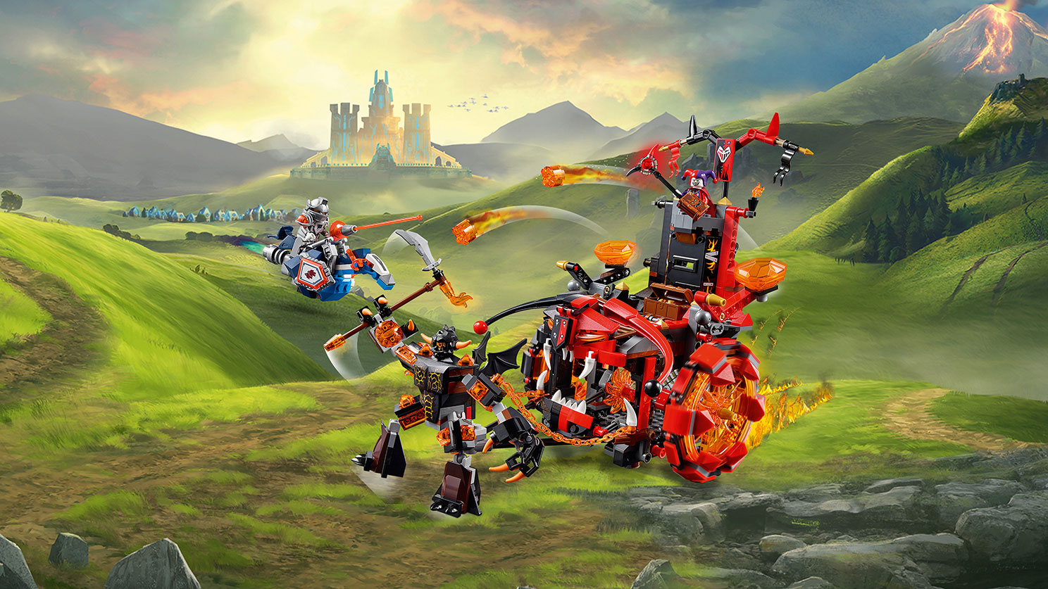 what is the lego nexo knights theme  jay's brick blog