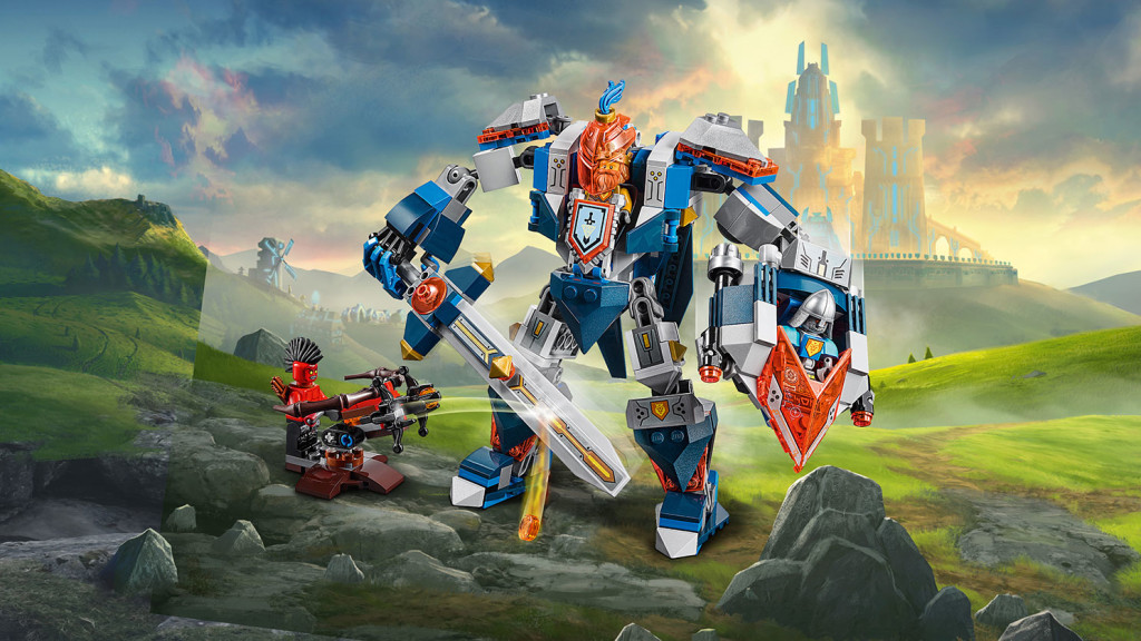 LEGO 70327 Nexo Knights - The King's Mech