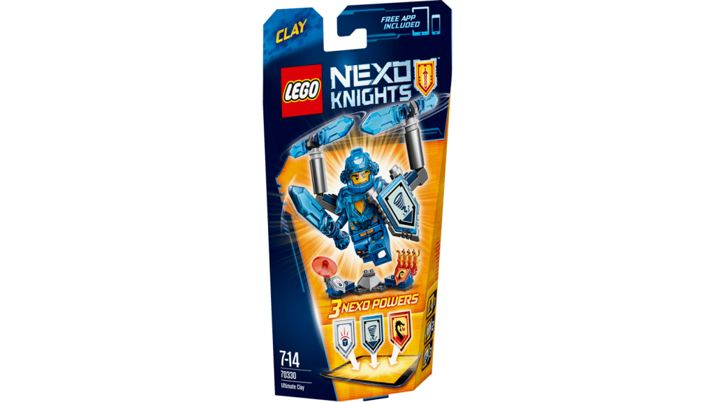 LEGO 70330 Nexo Knights - Ultimate Clay Box