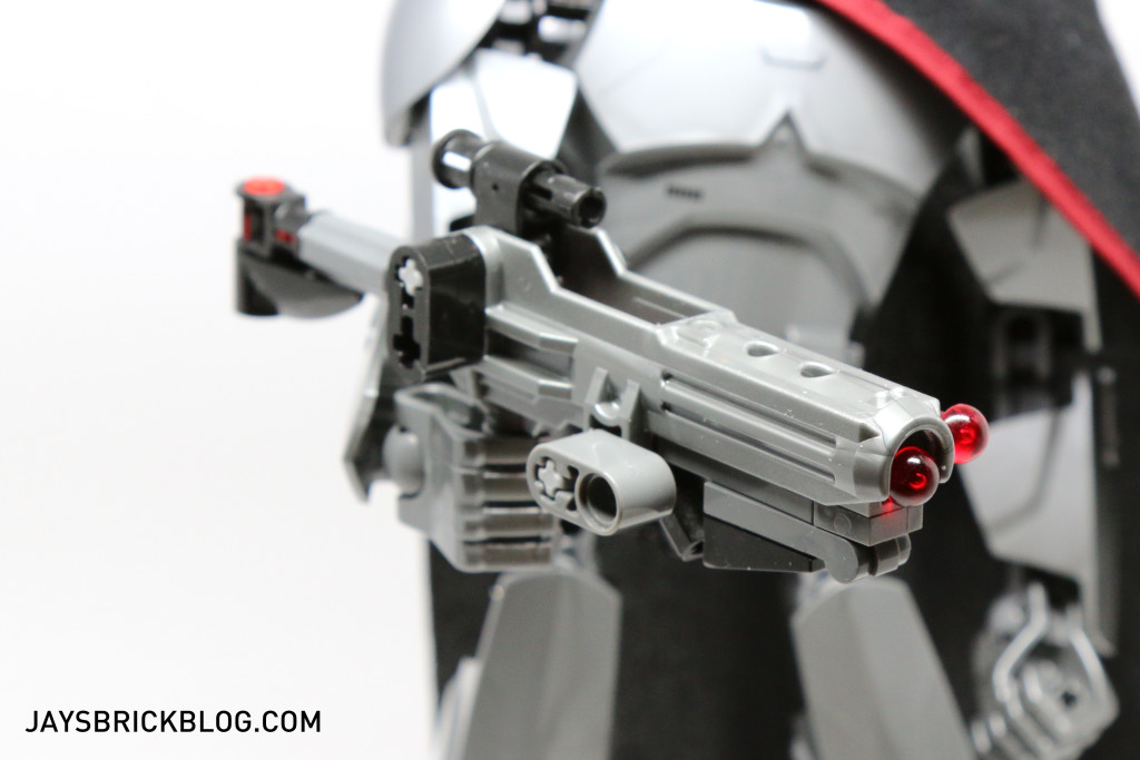 LEGO 75118 Captain Phasma Buildable Figure - Blaster Rifle Side View