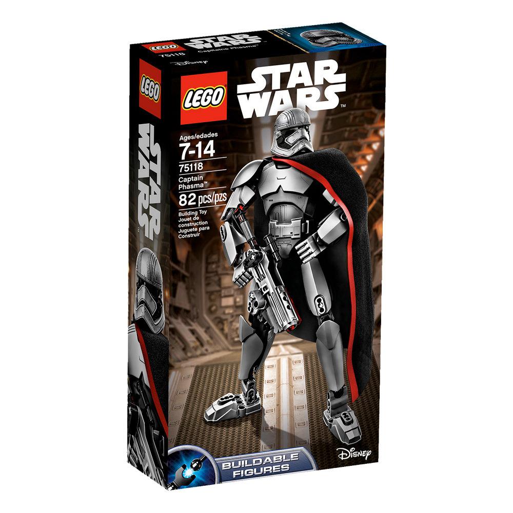 LEGO 75118 Captain Phasma Buildable Figure - Box
