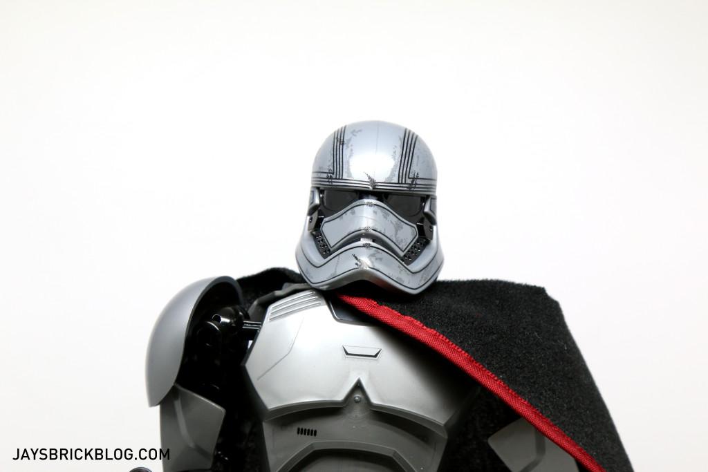 LEGO 75118 Captain Phasma Buildable Figure - Face Front View