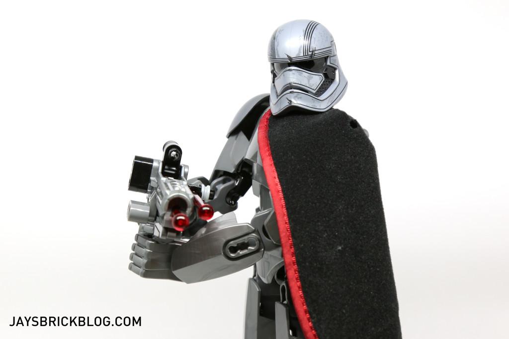 LEGO 75118 Captain Phasma Buildable Figure - Shooting Blaster
