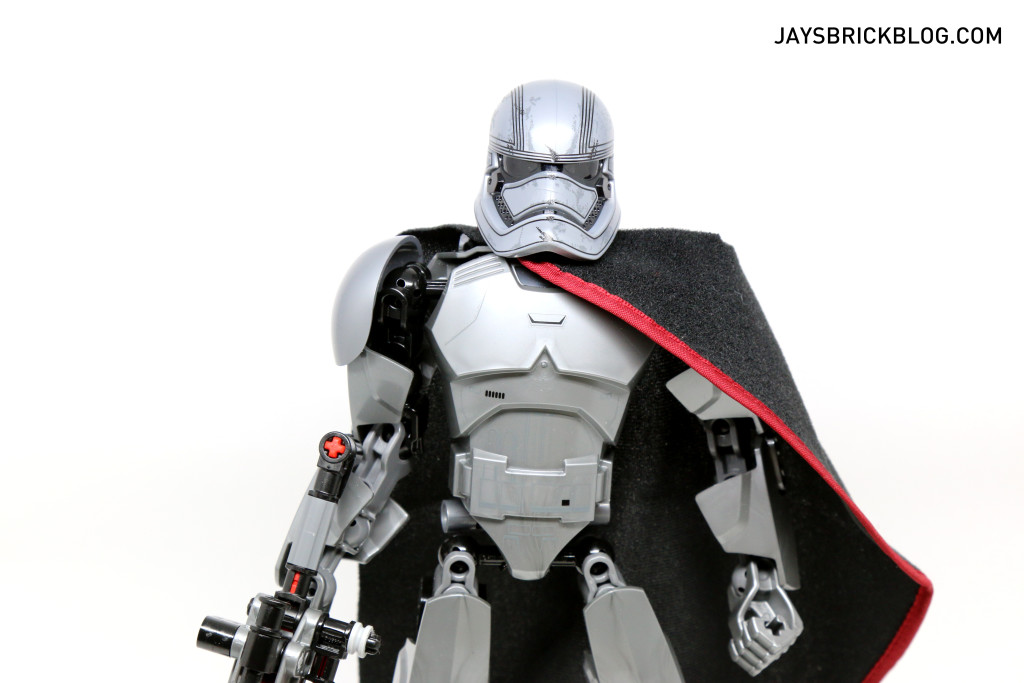 LEGO 75118 Captain Phasma Buildable Figure - Torso and Head