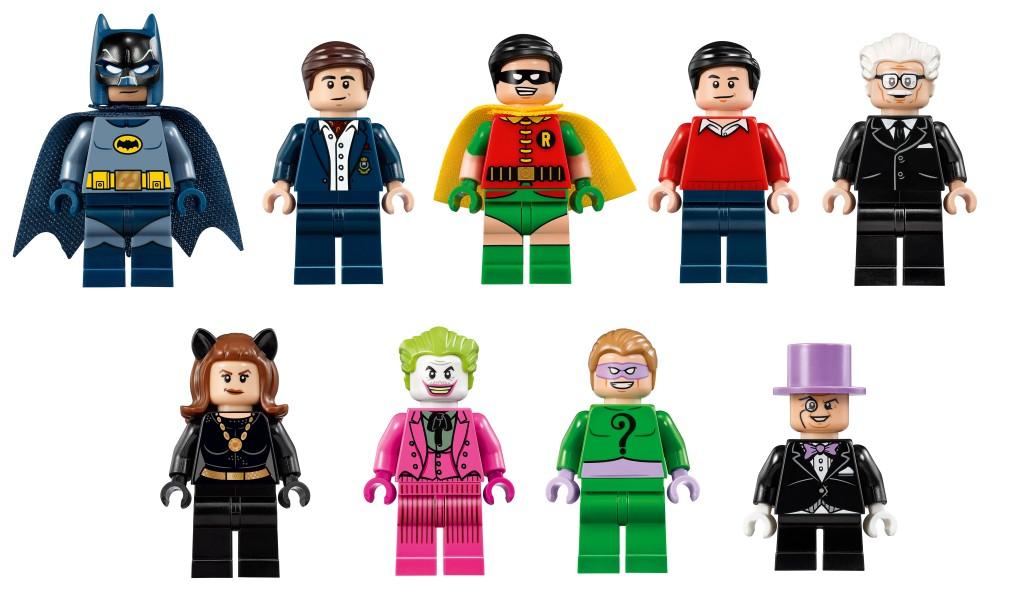 LEGO 76052 Batman Classic TV Series Batcave - Minifigure Characters