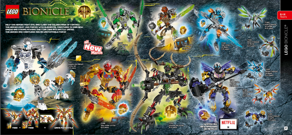 LEGO Australia Catalogue January to May 2016 - Bionicle
