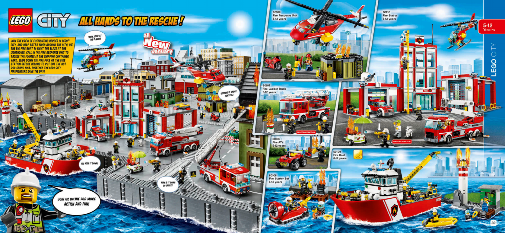 LEGO Australia Catalogue January to May 2016 - City Fire