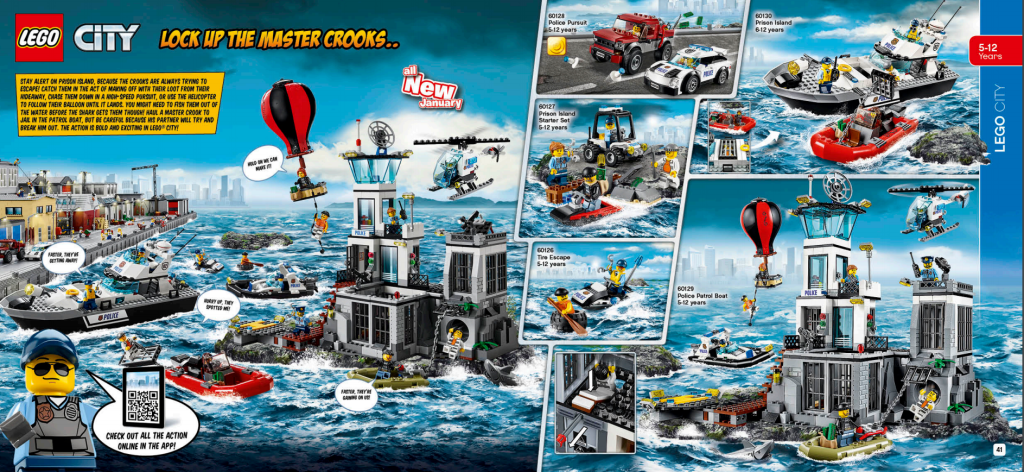 LEGO Australia Catalogue January to May 2016 - City Police