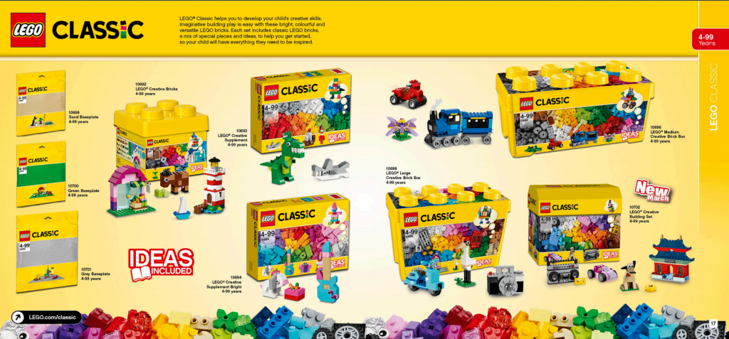 LEGO Australia Catalogue January to May 2016 - Classic